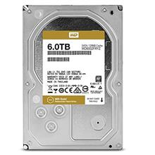 Western Digital WD6002FRYZ Gold 6TB 128MB Internal Hard Drive